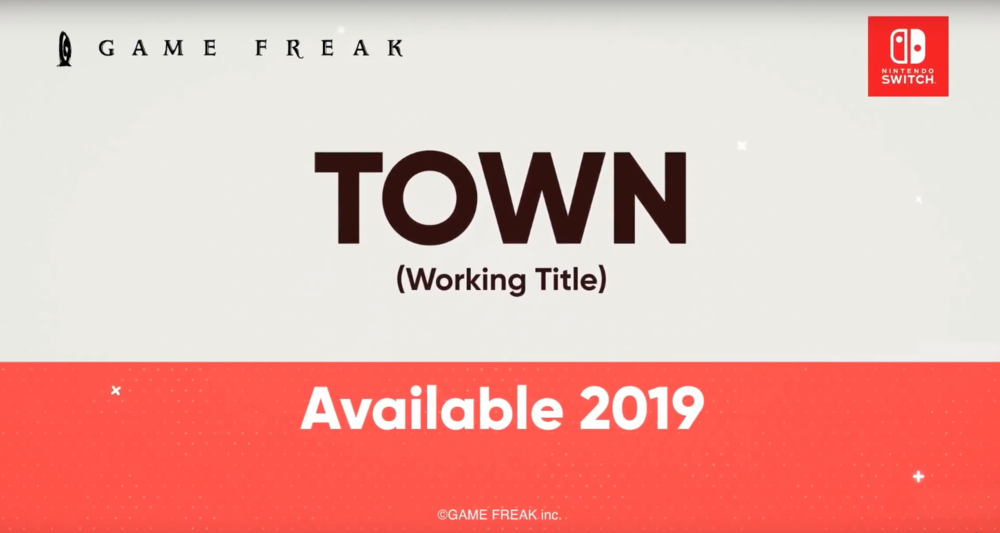 Town - If you couldn't tell from the previous statement, I'm quite the Game Freak fan. When I saw the announcement for this new RPG from the developers, I praised the video game gods. The trailer seemed to have a similar art style to the Pokémon games, but with a more complex fighting system. Mark your calendars folks!
