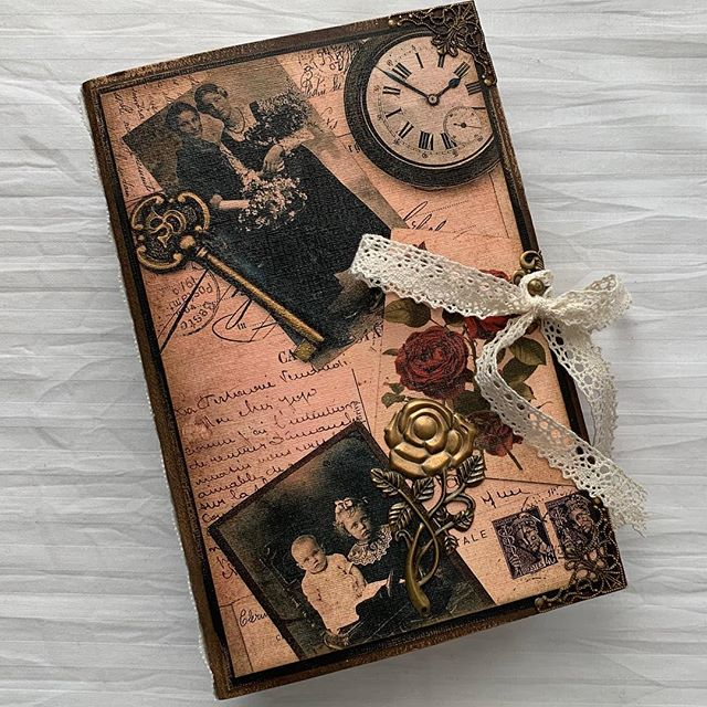 """Precious Moments"" Junk Journal..................................#twothe9stransformingdesigns.com #junkjournal #emphmere #handmade"