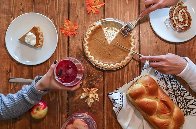 May your thanksgiving be filled with love and cheer, but also with full tummies. Happy Thanksgiving!