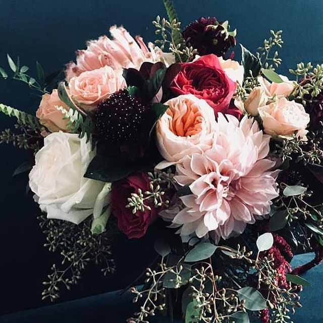 inspired ~ floral  #sharing from our friends at @thebluedaisyfloral * #instainspo #inspired #floralinspiration #bridalbouquet  #floralinspo #floralaesthetic #wildbouquet  #moodyvibes #flowerstagram #dreamy #thebluedaisy #pittsburghflorist #wedstagram #postitforaesthetic