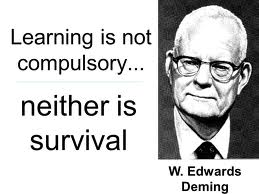Deming had opinions.