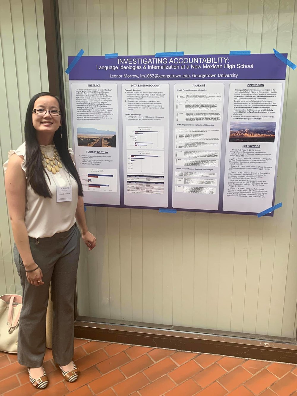 presenting mode… - at the Georgetown University Round Table