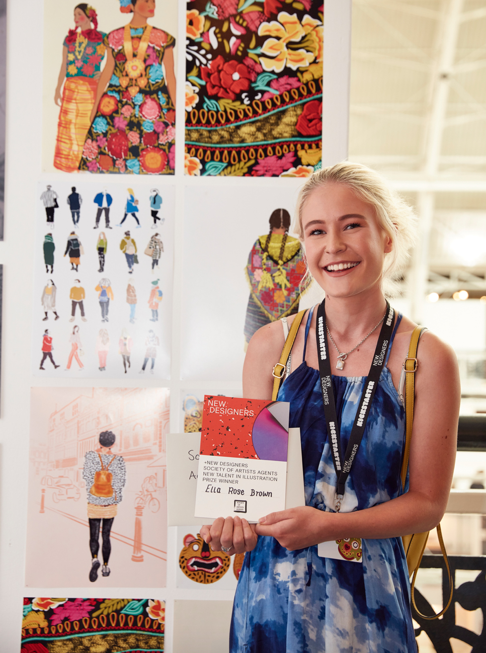 - - Winner of the Society of Artist Agents New Talent in Illustration Award @ New Designers 2018 -