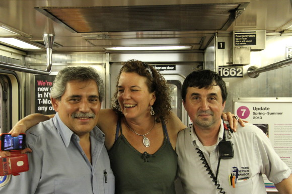 My heroes and phone rescuers from No 7 NYC Subway