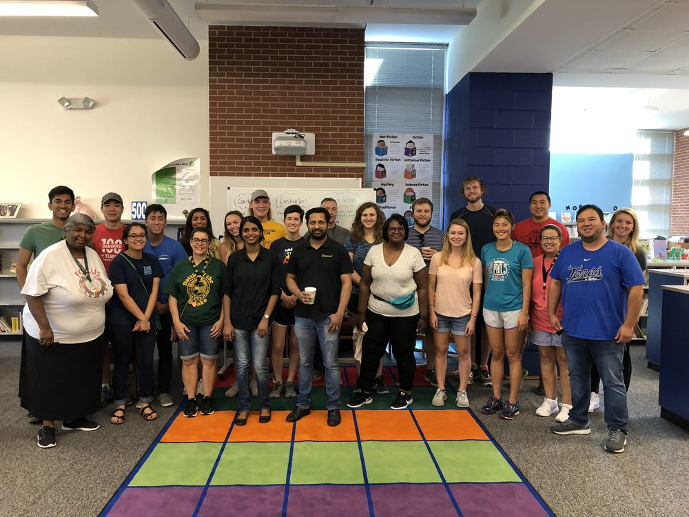 Bull City Classrooms with the wonderful teachers of Merrick-Moore Elementary School