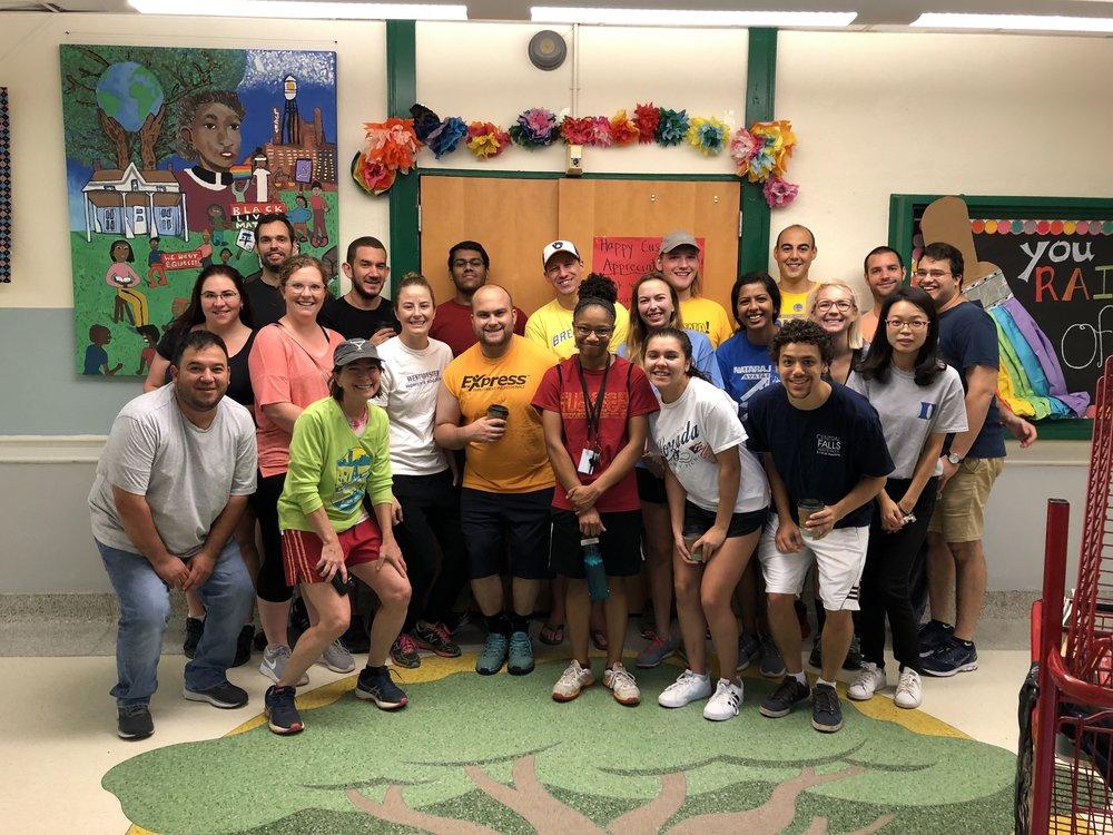 Bull City Classrooms at EK Powe Elementary School!