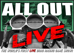 The Worlds First Live Drag Racing Game Show!