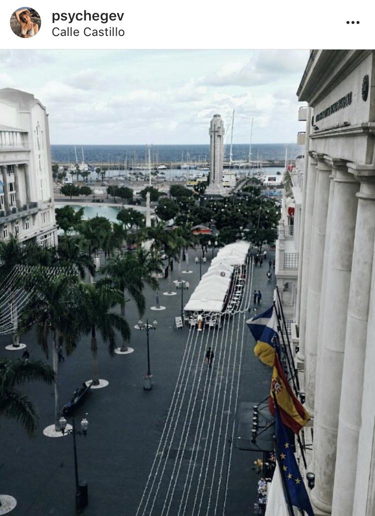 city view landscape santa cruz tenerife