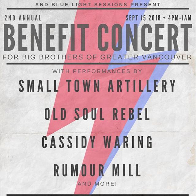 The Benefit Concert is back! Mark your calendar!  Music, food, drinks and amazing friends!