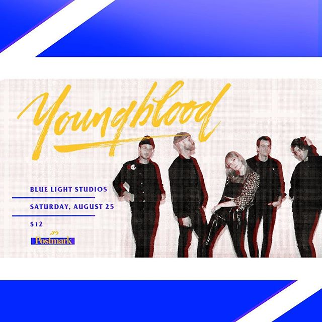 @youryoungblood is playing 🔴 LIVE 🔴 This Saturday, August 25th!!! Catch your pre sale tickets in the BIO. You DON'T wanna miss this one ☝️