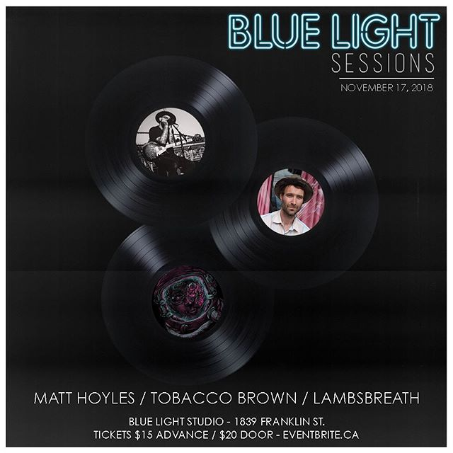 JUST ANNOUNCED: We have a triple bill coming at you on November 17 featuring @matthoylesmusic, @tobaccobrown and @lambsbreath! Tickets on sale now - link in bio!