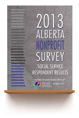 October 2013   2013 ALBERTA NONPROFIT SURVEY