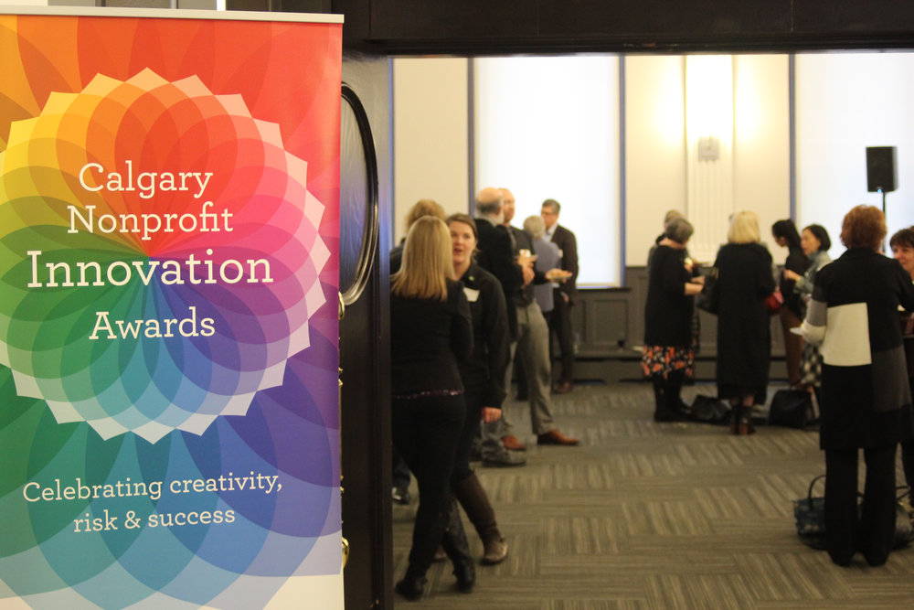 Calgary Nonprofit Innovation Awards - fall 2019 - Connect with and learn from the local visionary nonprofits that we celebrate each year at our annual Calgary Nonprofit Innovation Awards.