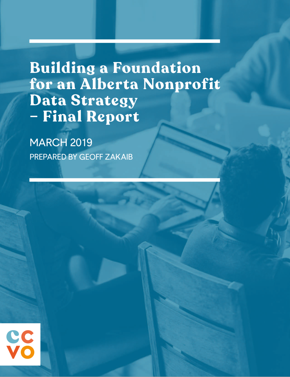 March 2019   Building a Foundation for an Alberta Nonprofit Data Strategy