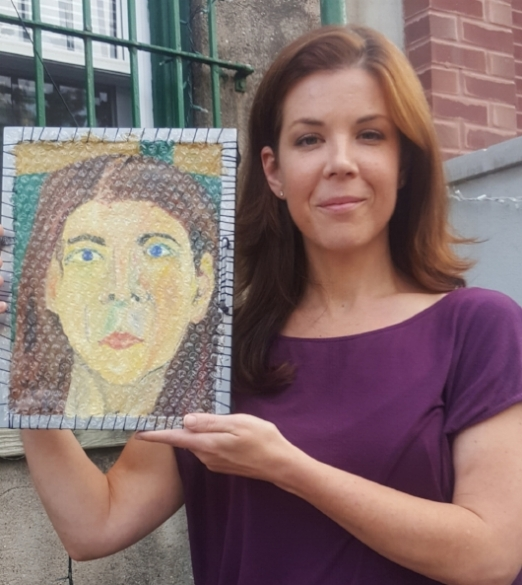 Bubblewrap Paintings: $400 - $700