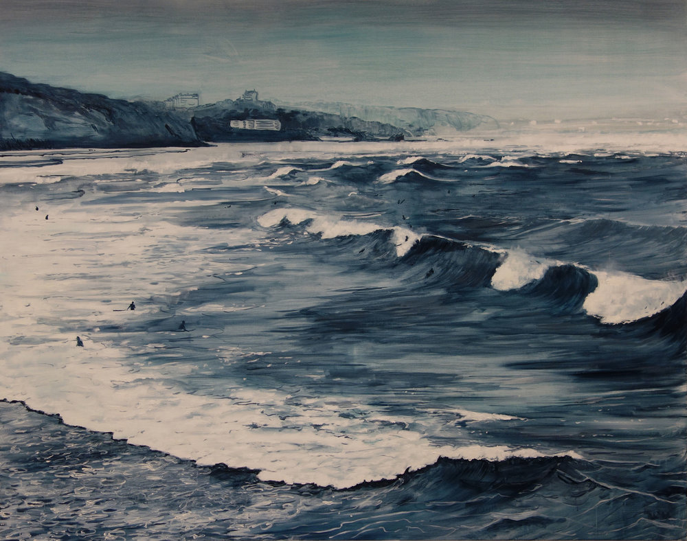 Biarritz surf (in private collection)
