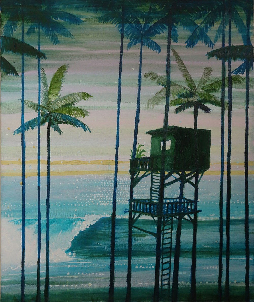 Treehouse at point break (in private collection)