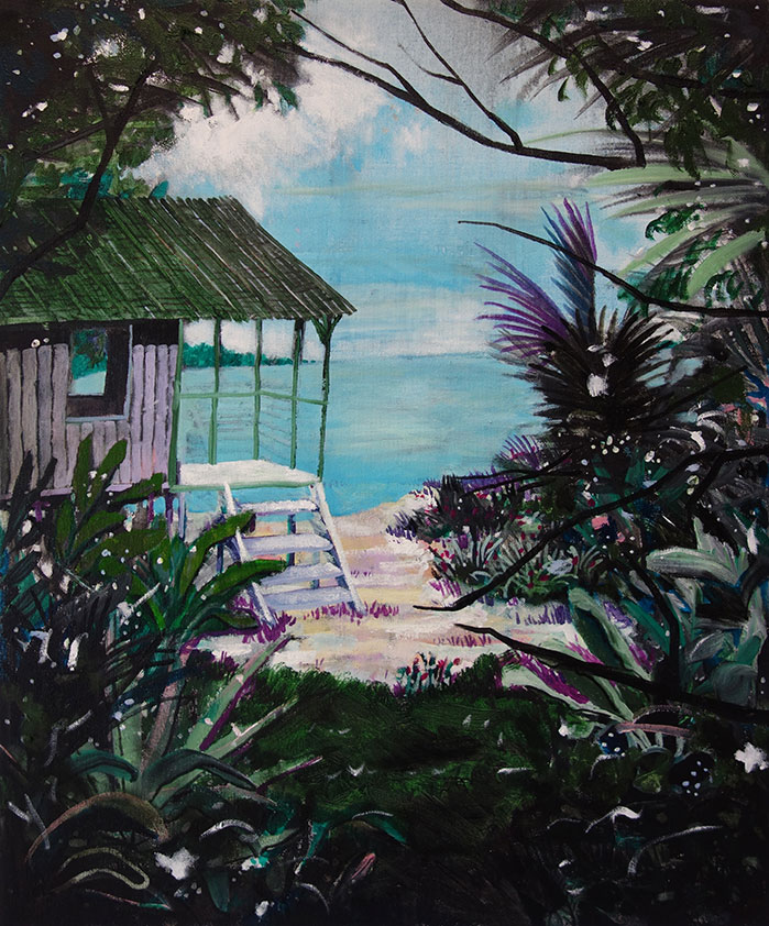 Treehouse at beach break (collection CBK Zuidoost)