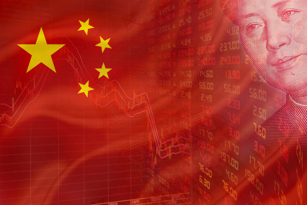 From top-down, China's one-party system holds a watchful eye over all that goes on in the nation's finances. (Shutterstock)