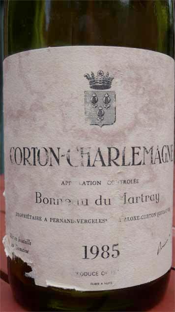 Bonneau du Martray, Corton-Charlemagne 1985