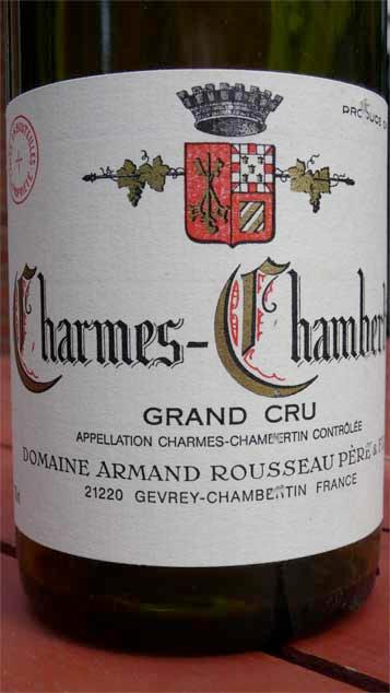 Armand Rousseau, Charmes-Chambertin 1999