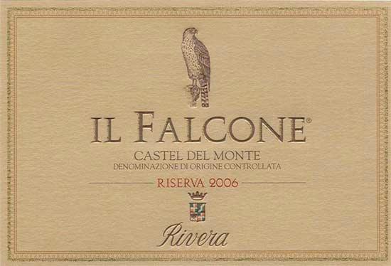Rivera, Il Falcone Castel del Monte Riserva 2006
