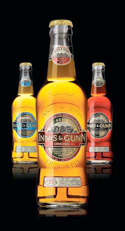 Innis & Gunn: Blonde, Original and Rum Cask (left to right)