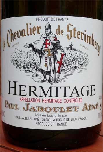 Paul Jaboulet Aîné, Hermitage Le Chevalier De Stérimberg 1999