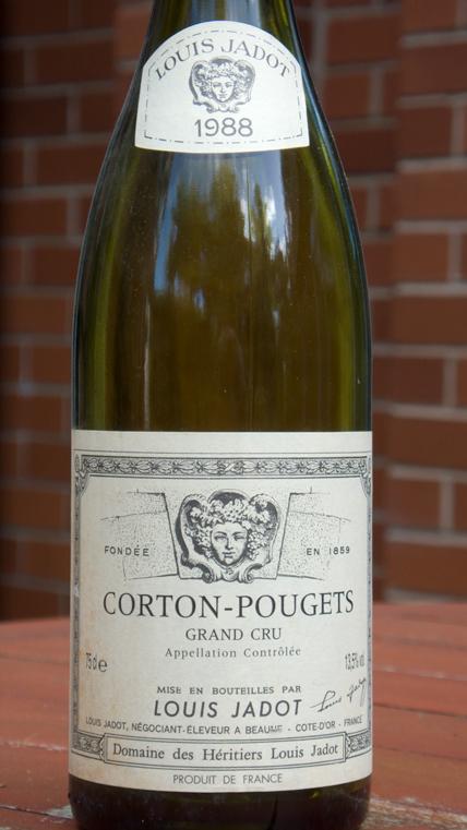 Louis Jadot, Corton-Pougets 1988