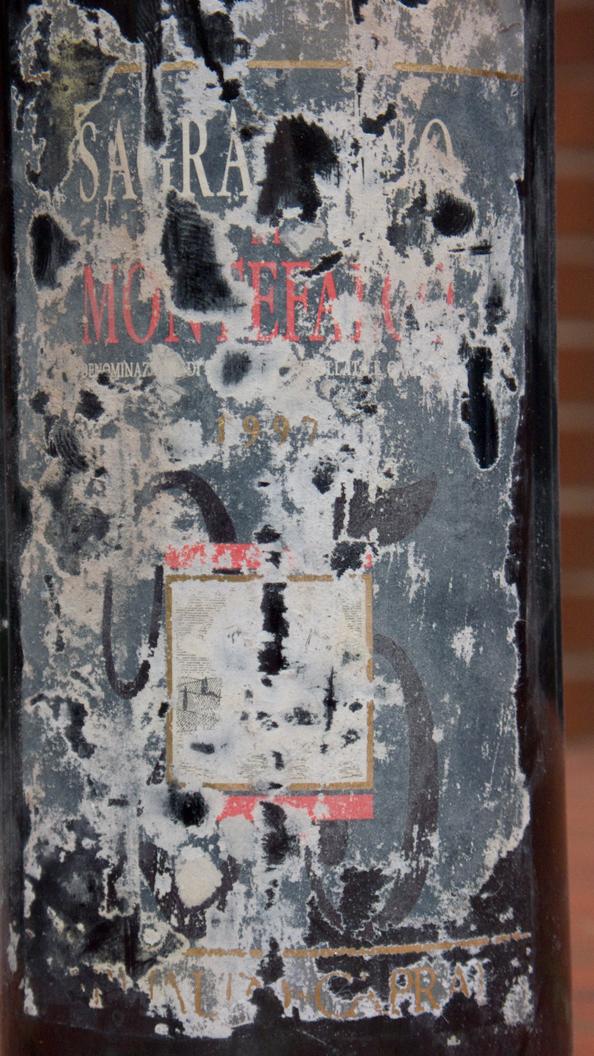 Arnaldo Caprai, Sagrantino di Montefalco 25 Anni 1997 (somewhat cellar damaged label)