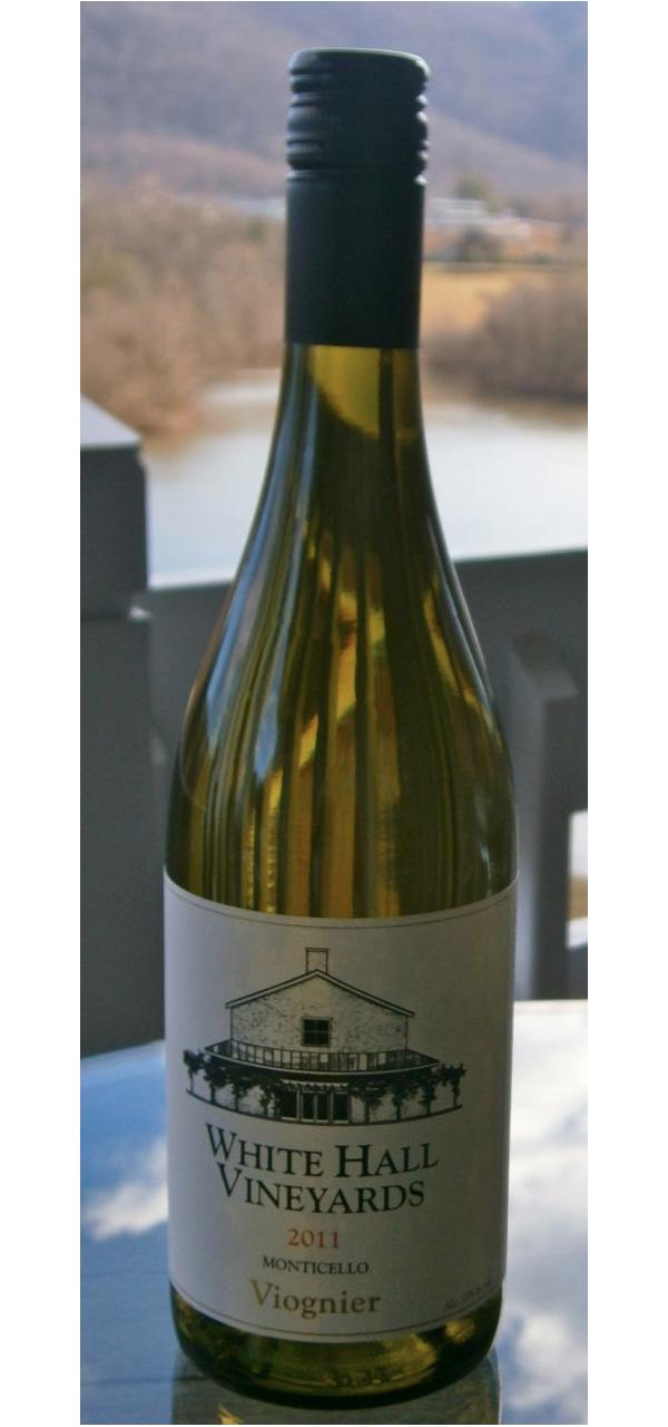White Hall Vineyards, Viognier 2011
