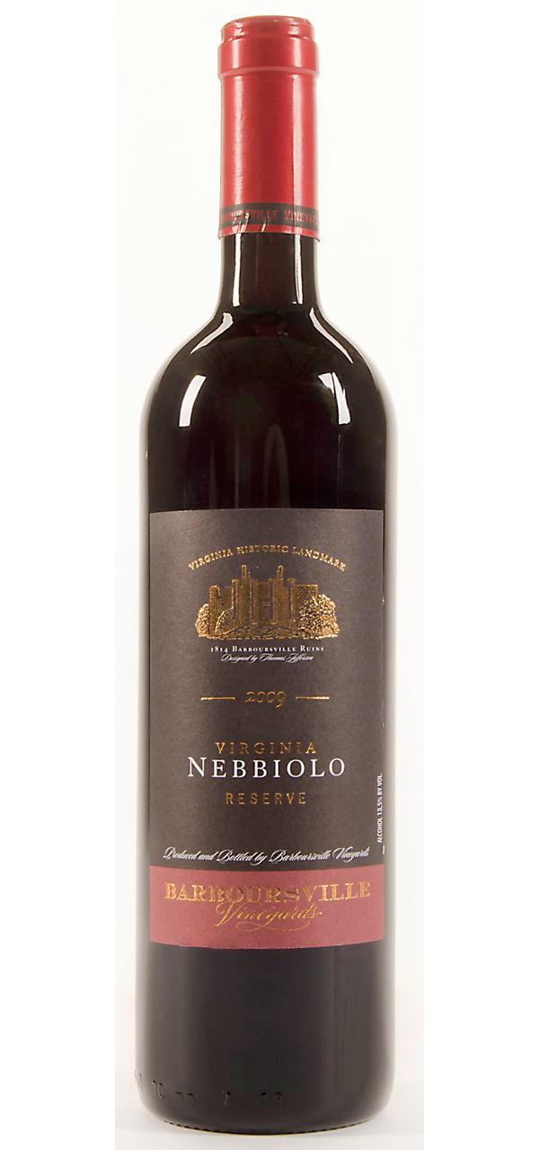 Barboursville Vineyards, Nebbiolo Reserve 2009