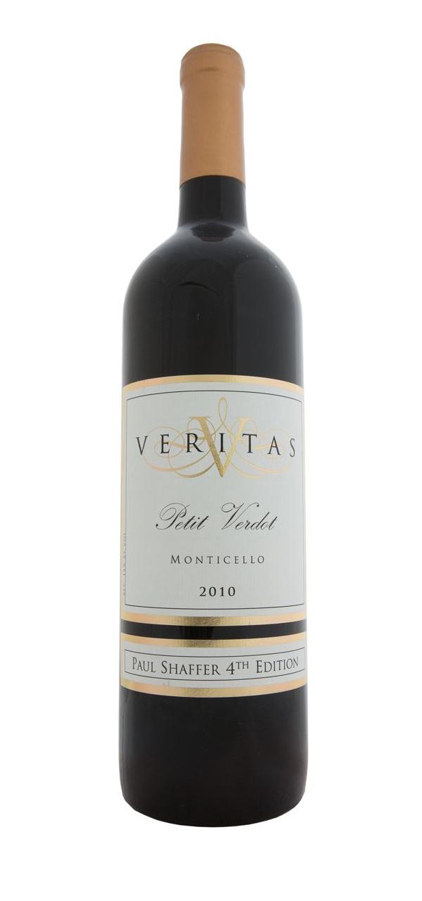 Veritas, Paul Schaffer 4th Edition Petit Verdot 2010