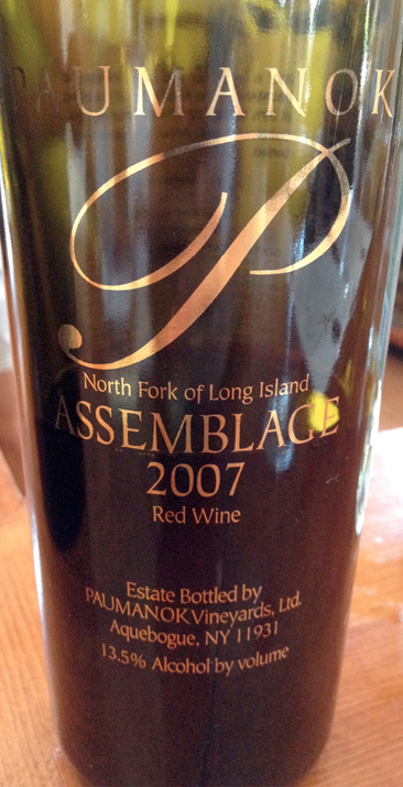 Paumanok Vineyards, Assemblage 2007