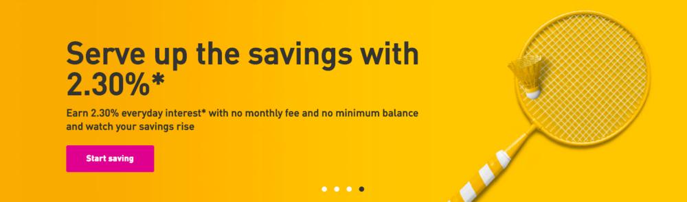 EQ Bank tagline/sub-head copy
