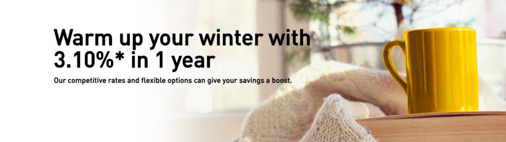 EQ Bank winter headline/sub-head