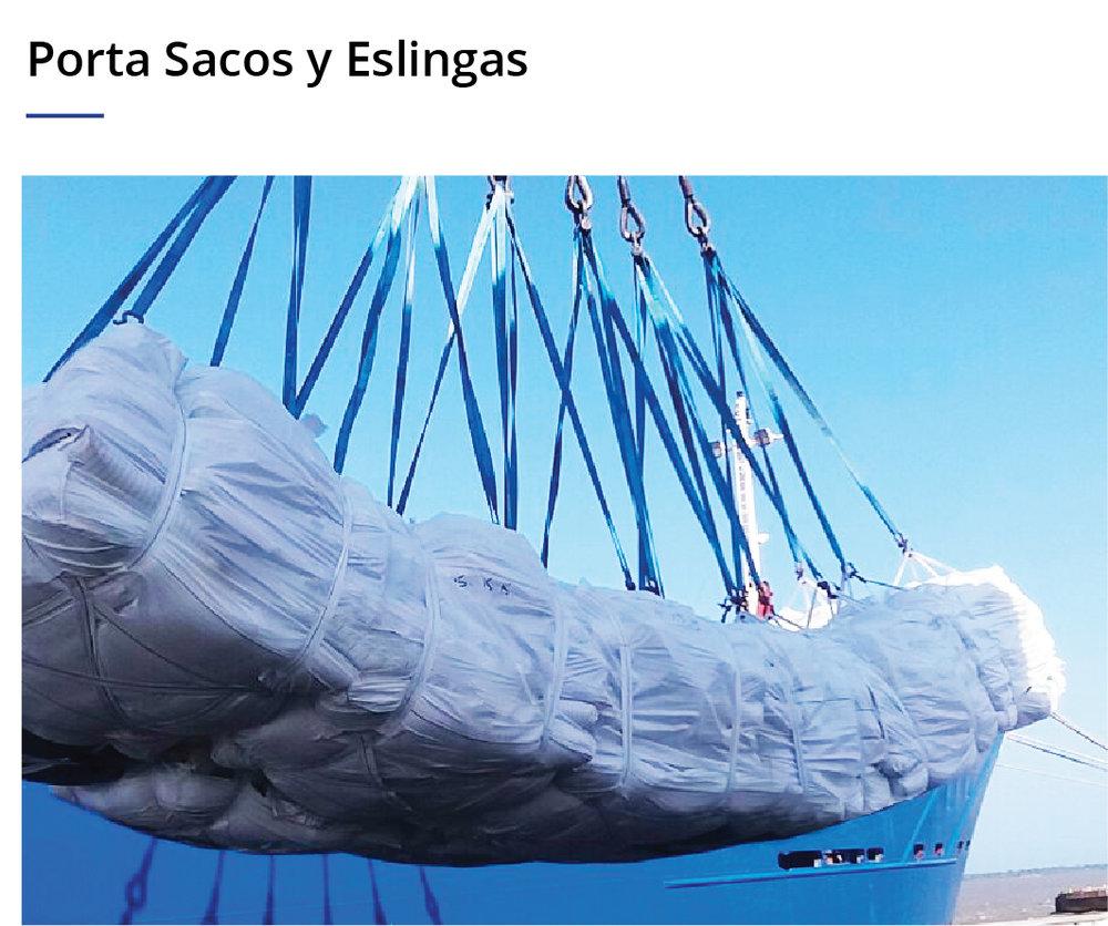 Porta Sacos y Eslingas
