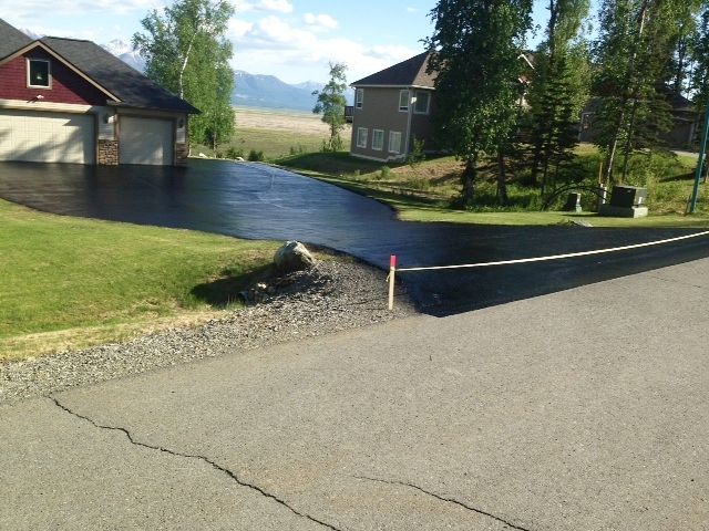 Alaska sealcoating is your driveway ready for a change a properly sealed driveway performed by the solutioingenieria Image collections