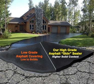 Alaska sealcoating our tough alaskan environmentdemands a tough solution alaska sealcoating restores asphalt surfaces with the best solutioingenieria Image collections