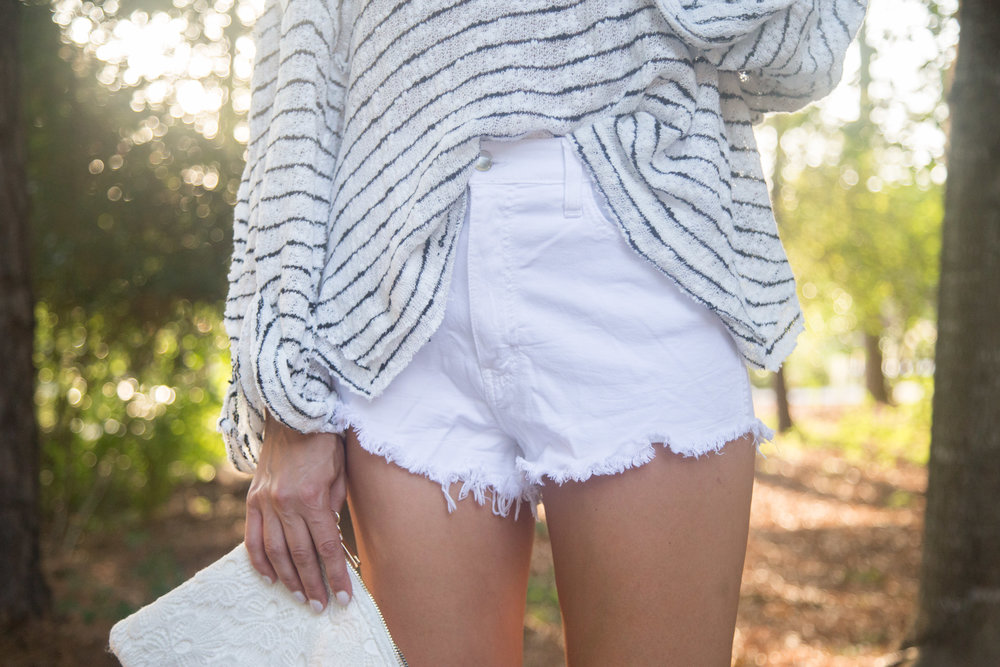 This shirt is great tucked in or untucked.
