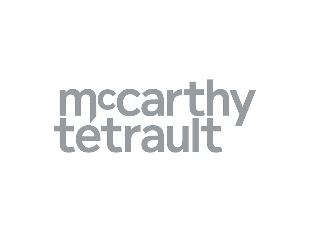 Legal Services Provided by  McCarthy Tetrault    https://www.mccarthy.ca/en