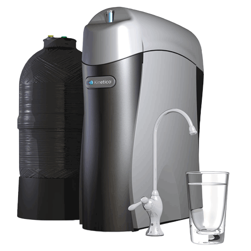 K5 Drinking Water Station® - The superior solutionThe K5 is our most advanced reverse osmosis system ever. Certified to remove more contaminants than any other system, it can produce more than 40 gallons of water a day—nearly three times the industry average. And thanks to FlexFiltration, its multistage filtering system is fully customizable and expandable to fit your water's specific filtration needs should they ever change. The K5 is protected by a 7-year warranty on all parts.