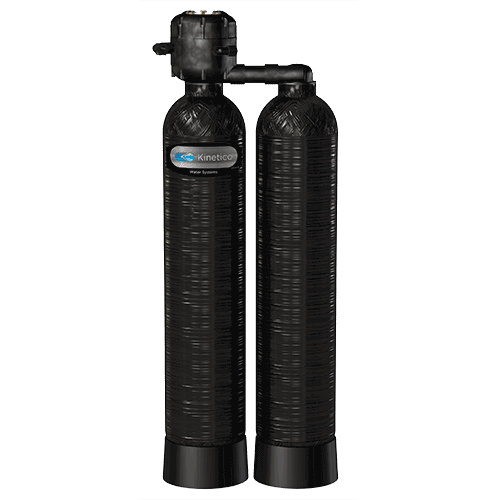 Calcite Backwashing Filter - The Kinetico Calcite Backwashing Filter is a dual-tank system that filters turbidity and raises pH, eliminating corrosion problems from acidic water.