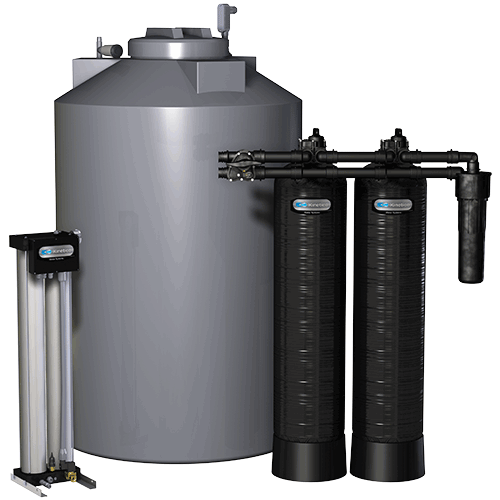 Whole-House Water Filtration System - Kinetico's Whole-House Reverse Osmosis Membrane System is a saltless solution used to solve a variety of water problems throughout the home.