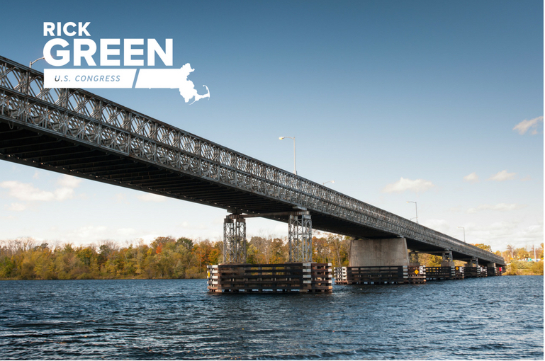 Rick Green will fix the Rourke Bridge in Lowell