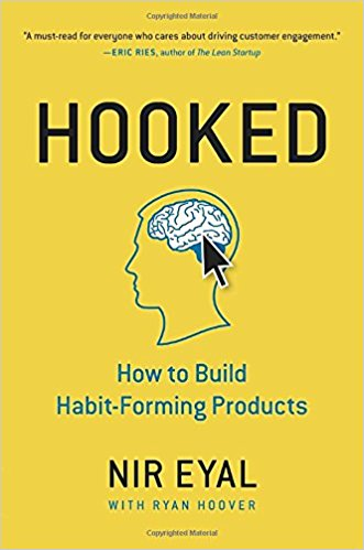 Hooked - by Nir Eyal   Why do some products capture our attention while others flop? What makes us engage with certain things out of sheer habit? Is there an underlying pattern to how technologies hook us?  If you are into learning about why you have created a second home in Twitter and Facebook, maybe this is the book to pick up and get  hooked .