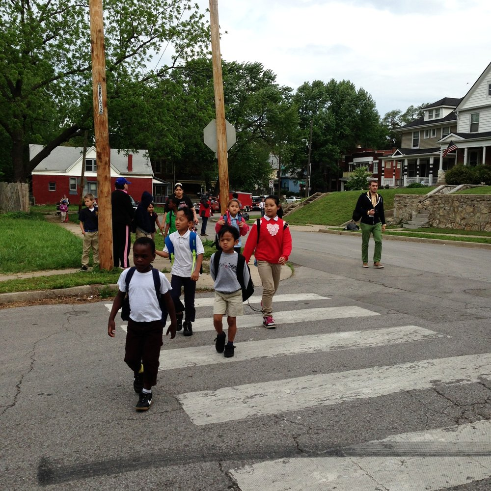 Create Safe Routes to Schools -