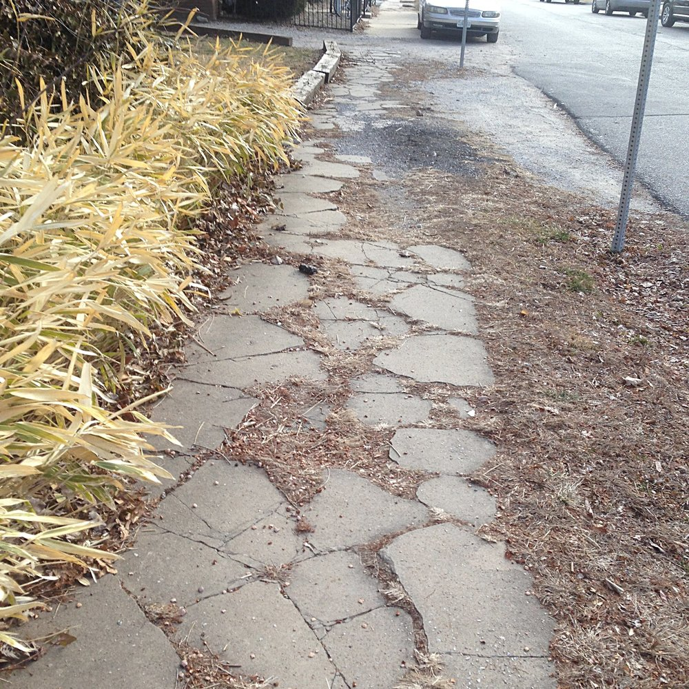 Kansas City has over $1 billion in sidewalk needs.