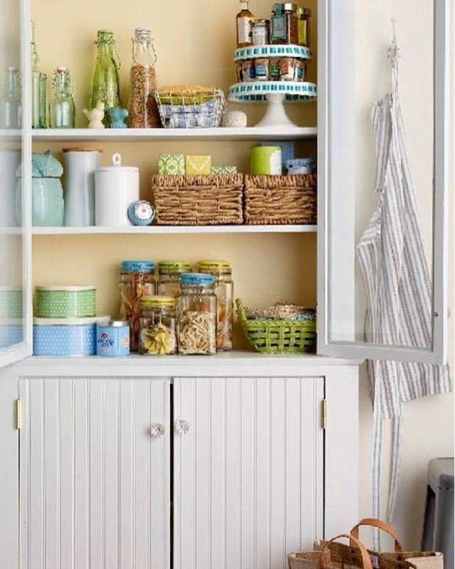 PEACEFUL - PRACTICAL - PRETTY - PANTRY - bring in pieces to add more pantry space when needed.  #pantryorganization #kitchenorganization #homeorganization #tidyup #konmari #professionalorganizers #certifiedkonmariconsultant #charlestonorganizer #charlestonkonmari #charleston #charlestonsc