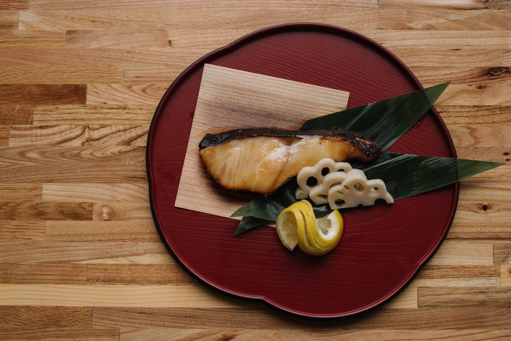 Grilled Black Cod - 銀鱈西京焼き.jpg